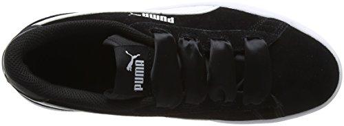 Black Smash Puma White puma Basses Ribbon puma Fille V2 Jr Sneakers Noir zwwd4S