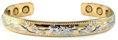 RC Womens Copper Magnetic Bracelet product image