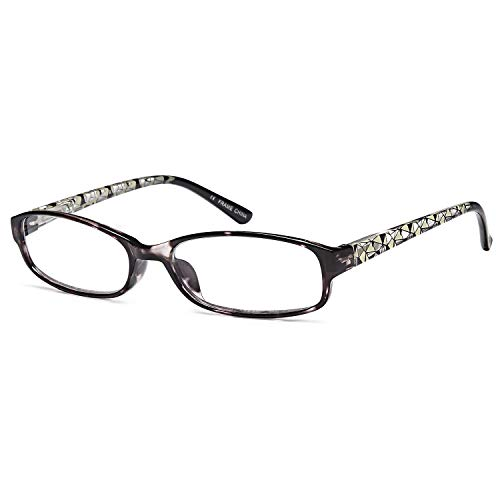 Gamma Ray Women's Reading Glasses 3 Print Ladies Fashion Readers for Women - 1.50