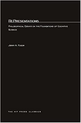 representations philosophical essays on the foundations of  representations philosophical essays on the foundations of cognitive science mit press jerry a fodor 9780262560276 com books