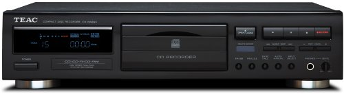 TEAC CDRW890 MKII-B CD Recorder with Remote (Black)