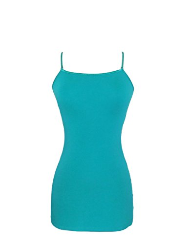 COLOR STORY Womens Junior Basic Camisole Tank Top