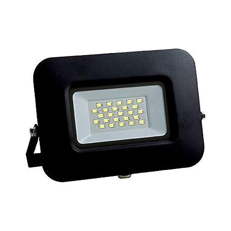 Foco Proyector LED 10 W exterior IP65 - 220/240 V ángulo de ...