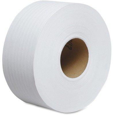 KIM02129 - Kimberly-Clark 02129, Tradition White JRT Jr. Jumbo Roll Tissue, Case of 12