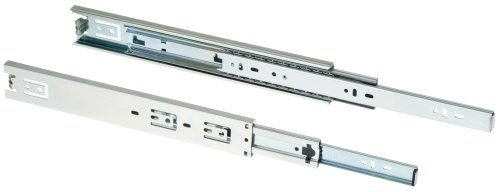 Shop Fox D3030 16-Inch Full Ext Drawer Slide 100-Pound Capacity Side Mount, Pair