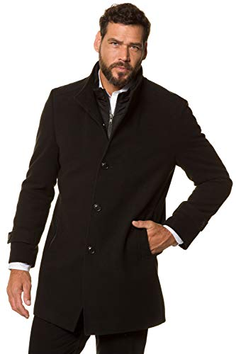 JP 1880 Homme Grandes Tailles Manteau Caban Masculin Chaud, Manches Longues 717014