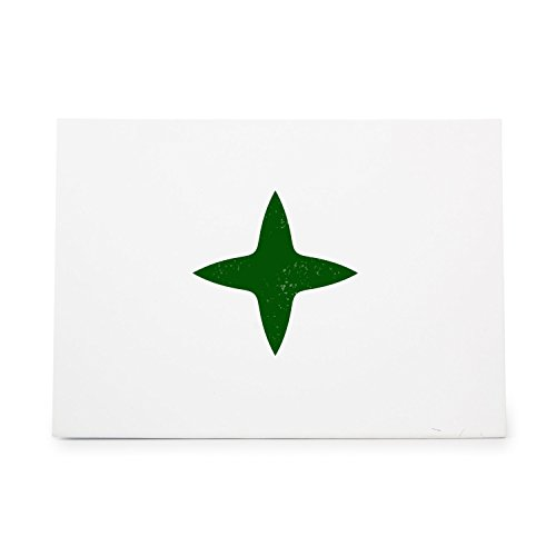 Ninja Star 2110 Rubber Stamp Shape great for Scrapbooking, Crafts, Card Making, Ink Stamping Crafts