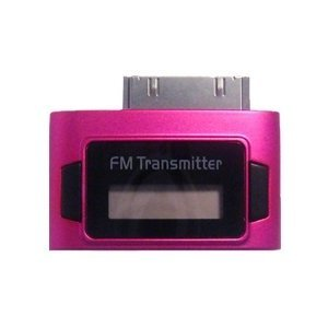 iPhone Rosa Exeze Pico 5 Transmisor FM para iPod//iPad