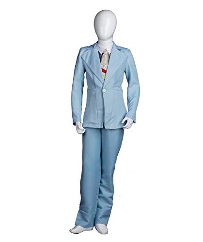 (Child's David Bowie Costume | Life on Mars Light Blue)