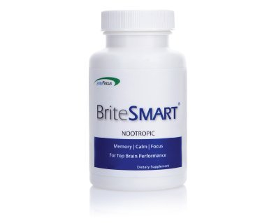 BriteSMART: Clinically Proven Nootropic Supplement For Memory, Focus, Alertness, Mental Clarity & Concentration | Mental Health Formula For Cognitive Enhancement & Increased Productivity