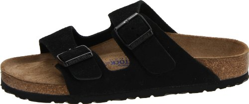 Birkenstock Arizona Soft Footbed Black Suede Regular Width - EU Size 35 / Women's US Sizes 4-4.5 by Birkenstock (Image #5)