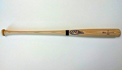RAWLINGS Pro Timber Ash Minor League Wood Professional Baseball Bat (Unfinished 141BR, 33.5-Inch)