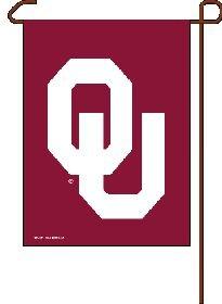 """NCAA Oklahoma Sooners Garden Flag, 11""""x15"""", Team Color"""