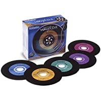Verbatim Digital Vinyl 700 MB Multicolor CD-R Pack with Jewel Cases (5 Discs) (Discontinued by Manufacturer)