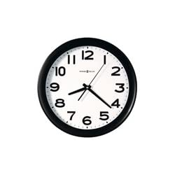HOWARD MILLER CLOCK CO., Kenwick Wall Clock, 13-1/2, Black