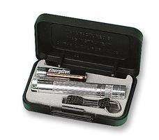 Maglite Solitaire Flashlight Gift Box Color: Silver
