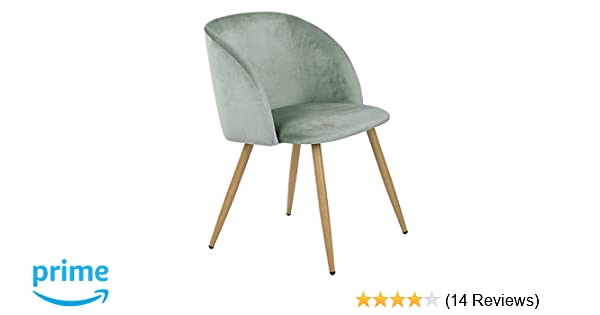 About A Chair 12 Side Chair.Homy Casa Accent Living Room Armchair Velvet Dining Chair Eiffel Style Side Chair With Metal Legs Green