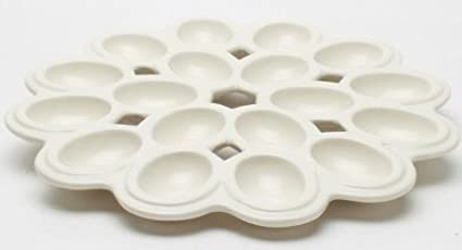 tag lattice egg white deviled egg plate platter
