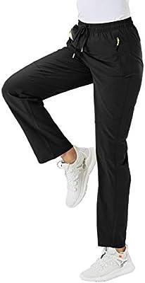 per il tempo libero elastici traspiranti impermeabili donhobo ad asciugatura rapida leggeri Pantaloni da trekking da donna