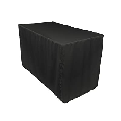 3 X Double Knit Polyester Professional Table Cover, 4 Ft