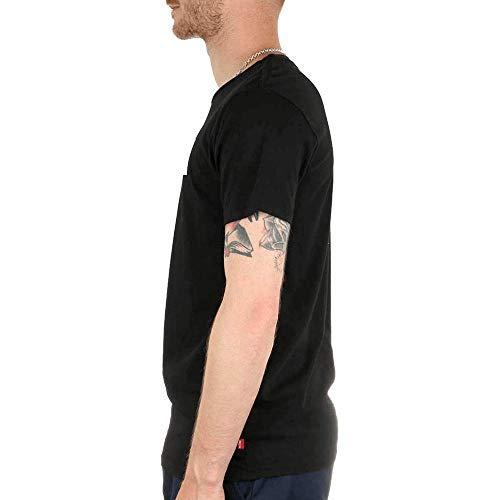 Set Noir Courtes shirt Manches Neck Graphic in Homme Levi's T 2 6S5qxvw