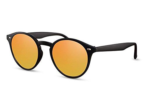Rondes Miroitant Femmes Rétro Connaisseur 017 Ca Sunglasses Lunettes Hommes Cheapass Brun Noir Noir 1qFnEXwHC