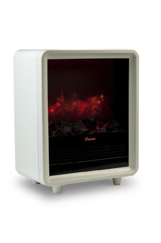 Crane Fireplace Heater - (White Fireplace Heater)