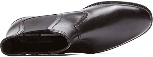 Rockport Menns Dp Moderne Chelsea Sko Sort Skinn