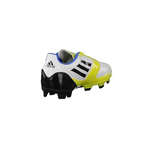Adidas Performance F5 TRX FG - Scarpe da Calcio Uomo - White/Yellow/Black