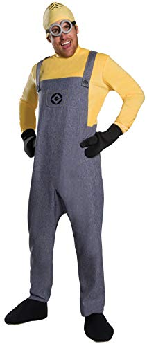 (Rubie's Despicable Me 3 Adult Deluxe Minion Dave Costume,)
