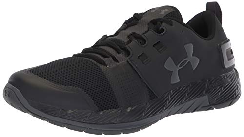 Under Armour Men's Commit TR X NM Sneaker, Black (001)/Charcoal, 7
