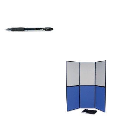 KITPIL31020QRTSB93516Q - Value Kit - Quartet ShowIt Six-Panel Display System (QRTSB93516Q) and Pilot G2 Gel Ink Pen - Panel 6 Display System