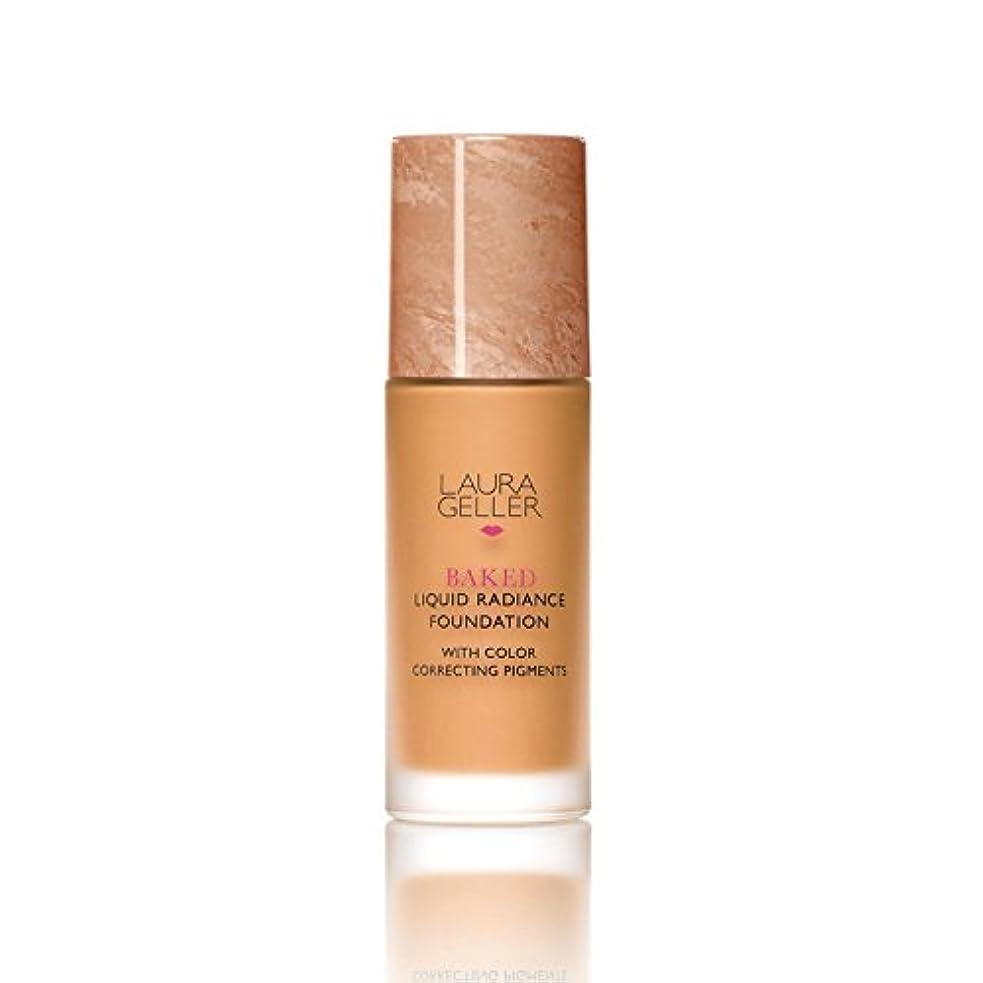 農民受け入れた殺人Laura Geller New York Baked Liquid Radiance Foundation Tan (Pack of 6) - ローラ?ゲラーニューヨーク焼いた液体放射輝度基盤日焼け x6 [並行輸入品]