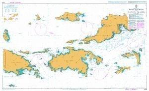 Ba Diagramm 2005  Jungferninseln, Road Hafen zu Capella Inseln von UNITED KINGDOM Hydrographic Büro