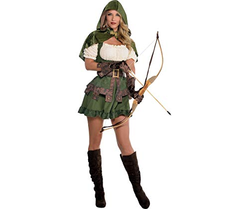 Amscan Lady Robin Hood Halloween Costume for Women, Extra Large, with Included Accessories for $<!--$26.88-->