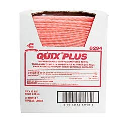 Chix Quix Plus Cloth Disinfecting Towels, Unscented, 13 1/2