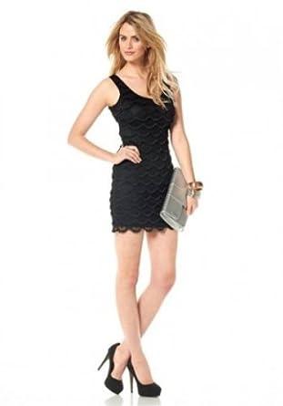 bce3372c03a4e8 SIENA STUDIO Struktur-Kleid Abendkleid Cocktailkleid Schwarz Größe 4 ...