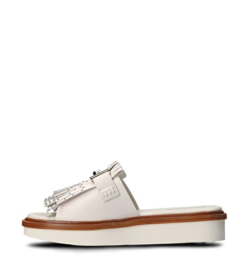 Women's Tod's Leather Sandals White Xxw23a0y500gocb001 nZqSwxqCa