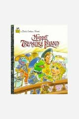 Muppet Treasure Island (Little Golden Book) Hardcover