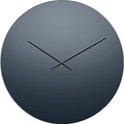 Karlsson Wall Clock - Mirage - Round Black/Grey Clock