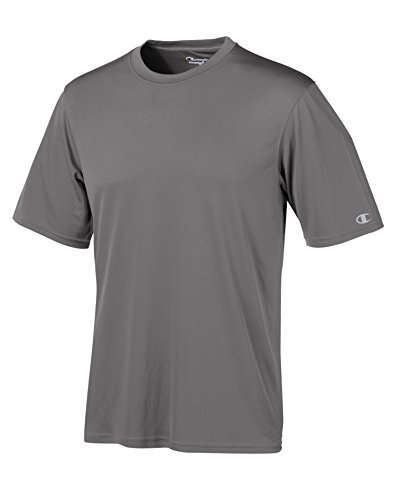 Champion by Men's Essential Double Dry Tee_Stone Gray_4XL