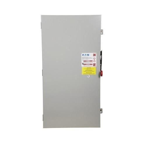 (Eaton DG325FGK 3 Wire 3 Pole Fusible K Series General-Duty Safety Switch 240 Volt AC 400 Amp NEMA 1)