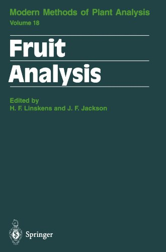 Fruit Analysis (Molecular Methods of Plant Analysis)