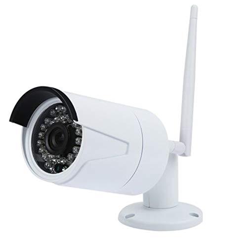TOPmountain 1080P Wireless Hd Camera P2P Outdoor Camera 2.0Mp Waterproof WiFi Network Mobile Phone Remote Camera – White