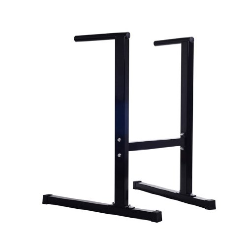Soozier Dip Stand Parallel Bar Home Gym Dipping Station