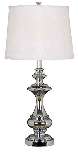 Kenroy Home 21430CH Table Lamp, Chrome (Kohls Table Lamps)