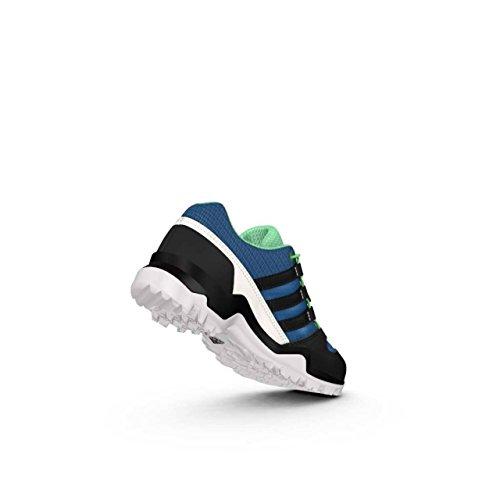 Adidas Terrex K, Bottes de Randonnée Mixte Enfant, Bleu (Azubas/Negbas/Blatiz), 38 EU