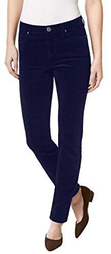 Buffalo David Bitton Women's Brushed Corduroy Skinny Jean (12/32, Navy)