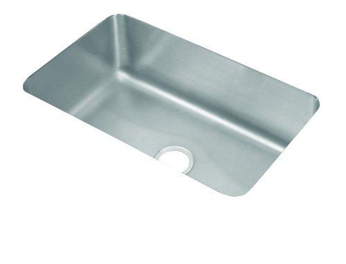 Elkay ELU281612 Gourmet Lustertone Undermount Sink, Stainless Steel