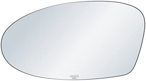 exactafit 8151L Replacement Driver Left Side Mirror Glass Flat Lens fits 99-04 Oldsmobile Alero 02-05 Pontiac Grand Am by Rugged TUFF